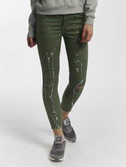 Leg Kings Skinny jeans Katja olijfgroen