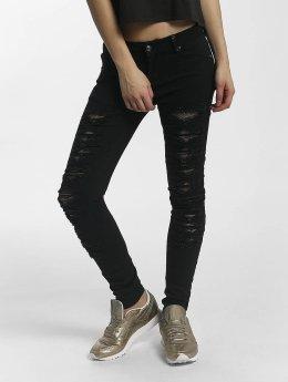 Leg Kings Skinny jeans Mesh zwart