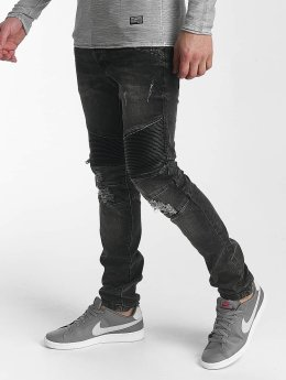 Leg Kings Slim Fit -farkut Enzo harmaa