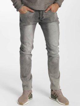 Leg Kings Slim Fit -farkut Washed harmaa