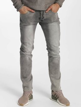 Leg Kings Slim Fit Jeans Washed grijs
