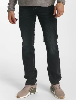 Leg Kings Slim Fit Jeans Washed zwart
