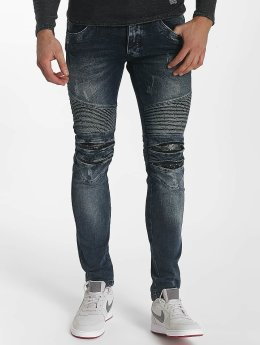 Leg Kings Vaqueros pitillos Ribbed azul