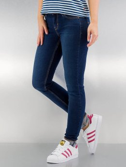 Levi's® Облегающие джинсы 710 FlawlessFX Super синий