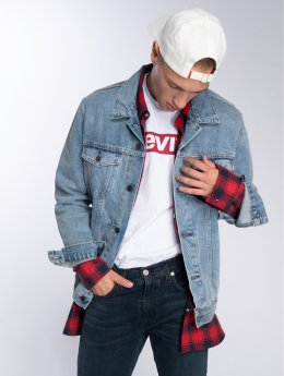Levi's® джинсовая куртка The Trucker синий