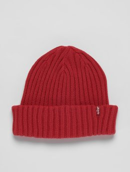 Levi's® Beanie Ribbed rosso