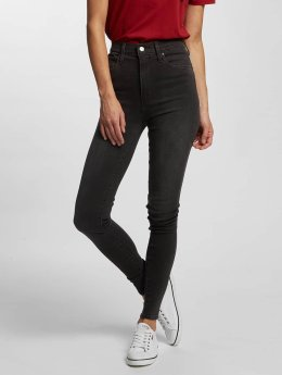 Levi's® Frauen High Waist Jeans Mile High Super Skinny in grau