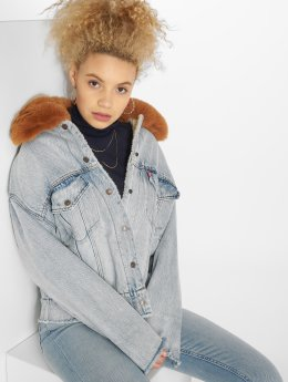 Levi's® Jeansjacken Oversized Denim bunt