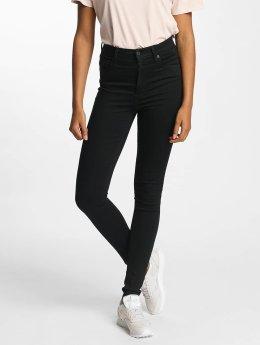 Levi's® Korkeavyötäröiset farkut Mile High Super Skinny musta