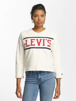 Levi's® Svetry Raw Graphic bílý