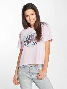 Levi's® T-paidat Graphic J.V. purpuranpunainen
