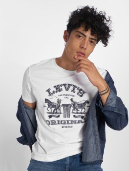 Levi's® T-shirt 2horse Graphic 2h bianco