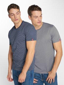 Levi's® t-shirt 2-Pack blauw