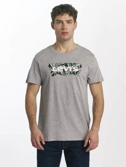 Levi's® t-shirt Housemark Graphic grijs