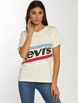 Levi's® Frauen T-Shirt Graphic Boyfriend New Logo in weiß