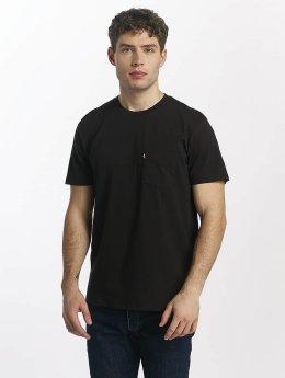 Levi's® t-shirt Set In Sunset zwart