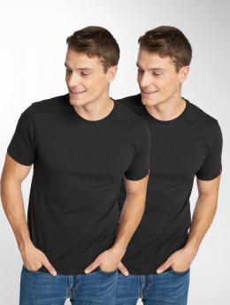 Levi's® t-shirt 2-Pack zwart