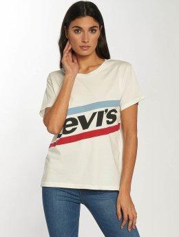 Levi's® T-Shirty Graphic Boyfriend New Logo bialy
