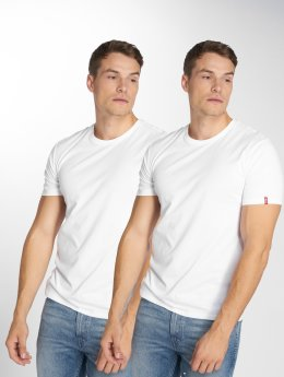 Levi's® Trika 2-Pack bílý