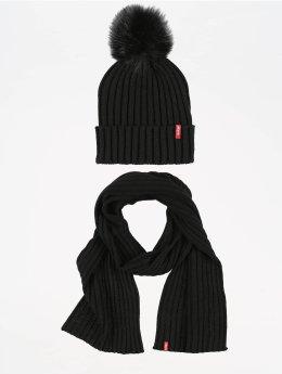 Levi's® Wintermuts Fur Pom zwart