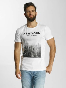 Lindbergh Camiseta O-Neck blanco