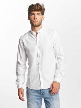 Lindbergh Hemd White Oxford weiß