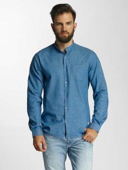 Lindbergh overhemd With Neps blauw