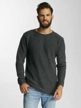 Lindbergh Puserot Acid Washed Knit musta