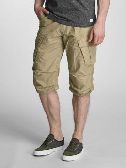 Lindbergh Shorts Detailed Washed beige