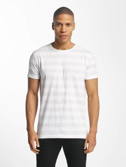 Lindbergh T-shirt Nep YD Stripe bianco