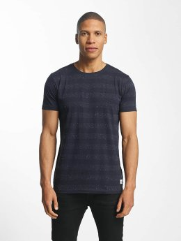 Lindbergh T-Shirt Nep YD Stripe blau
