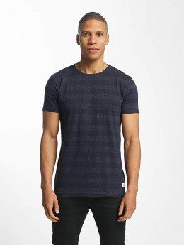 Lindbergh T-Shirt Nep YD Stripe blue