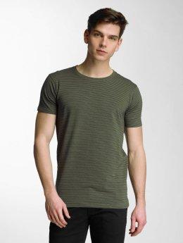 Lindbergh T-shirt Stretch oliva