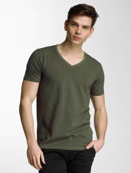 Lindbergh T-Shirt Stretch V-Neck olive
