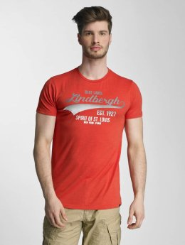 Lindbergh t-shirt No Plane rood