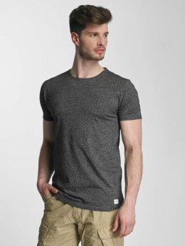 Lindbergh T-Shirt Mouline schwarz