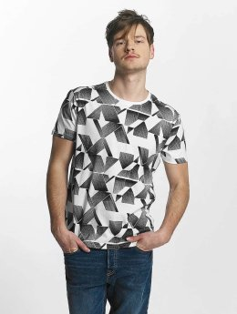 Lindbergh T-Shirt All Over Printed white