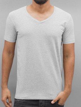 Lindbergh T-shirts Stretch grå
