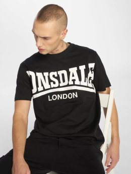 Lonsdale London Футболка York черный