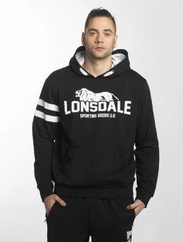Lonsdale London Bluzy z kapturem Cannock  czarny
