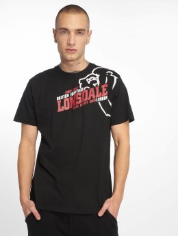 Lonsdale London Camiseta Walkley  negro