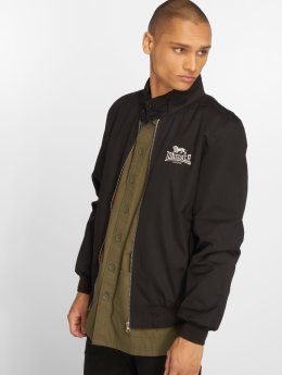 Lonsdale London Chaqueta de entretiempo Harrington negro