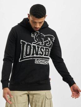 Lonsdale London Hoodies Tadley  čern