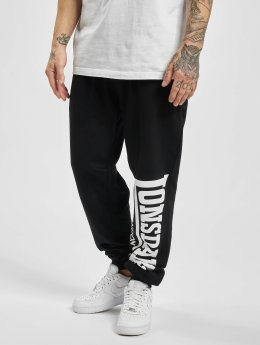 Lonsdale London Jogginghose Logo Large schwarz