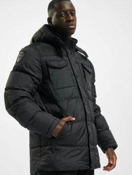 Lonsdale London Kurtki zimowe  Darren   czarny