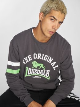 Lonsdale London Pullover Hereford grau
