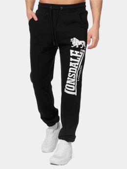 Lonsdale London Spodnie do joggingu Ockle czarny