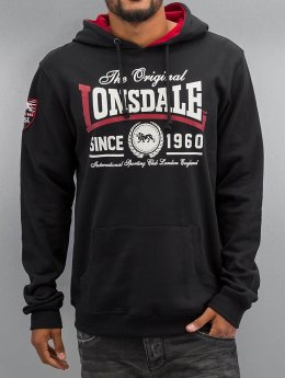 Lonsdale London Sweat capuche Wells noir