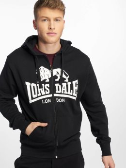 Lonsdale London Sweat capuche zippé Krafty noir