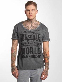 Lonsdale London T-paidat Winsford harmaa